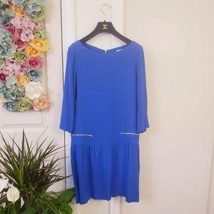 Sandro Dresses - $595 SANDRO PARIS Cobalt Blue French Short Dress 2